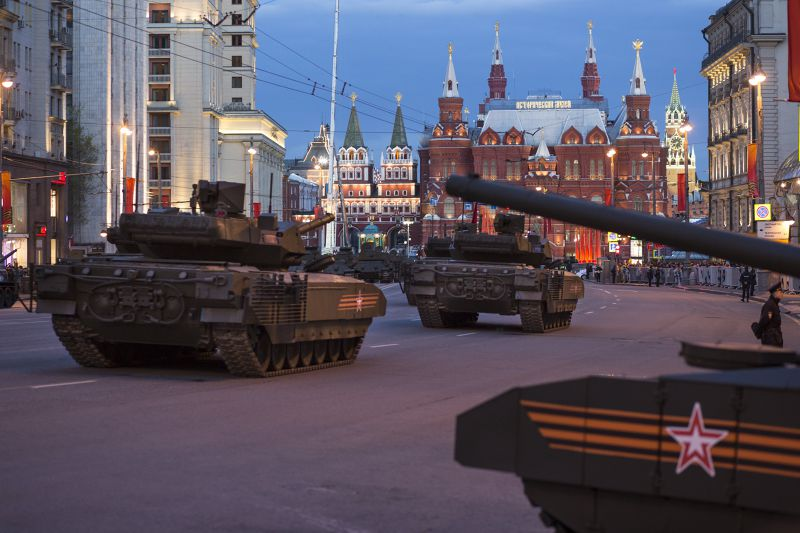 Armata T-14。(美聯社)