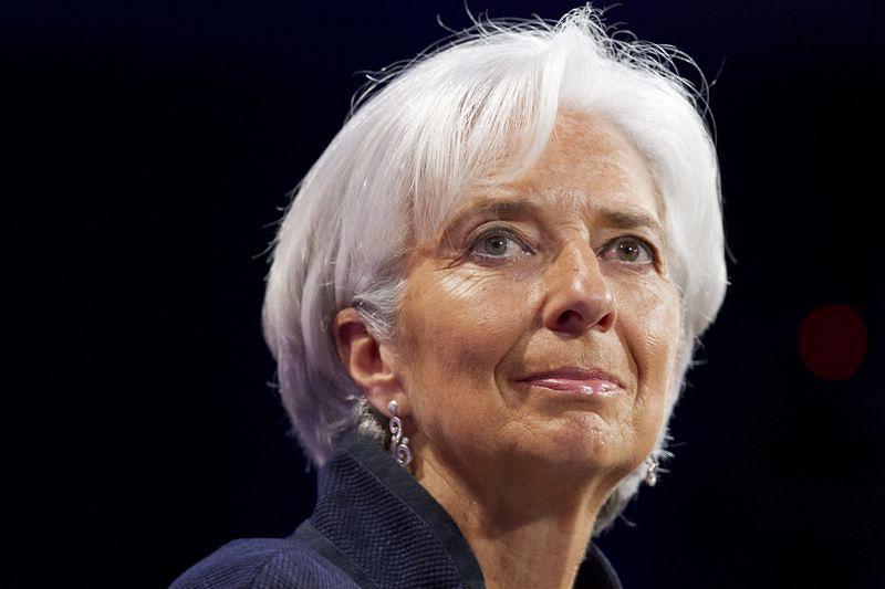 國際貨幣基金組織(IMF)總裁拉加德(Christine Lagarde)