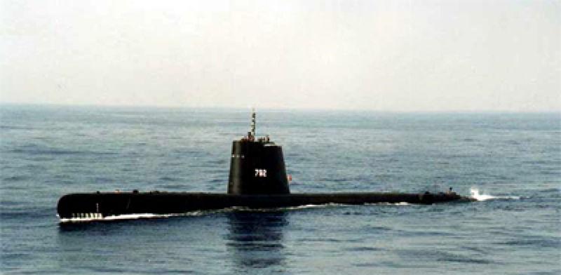 圖為國軍現有的茄比級潛艦。(取自海軍全球資訊網) (3).jpg