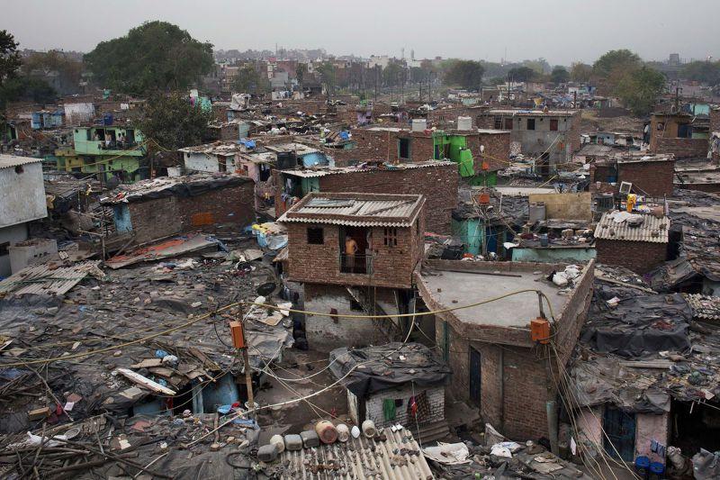 印度社會的貧窮問題依然嚴重