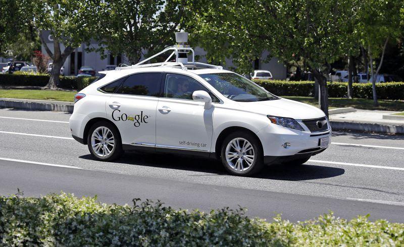 Google自動駕駛車