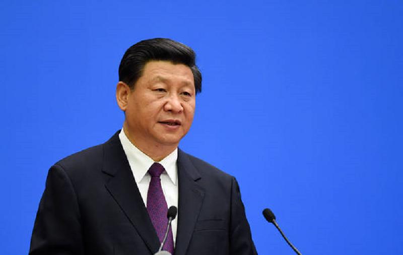 中國國家主席席習近平出席「和平共處五項原則」發表60周年紀念大會致詞。(新華網)