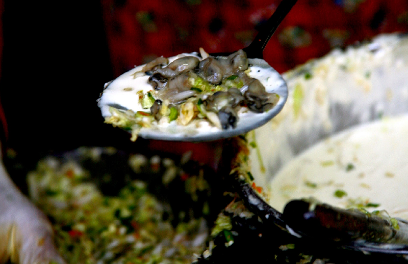 彰化王功是牡蠣的故鄉。(二魚文化提供)