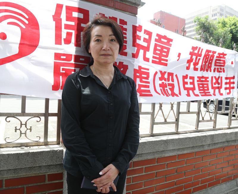 兒童權益促進會理事長王薇君。