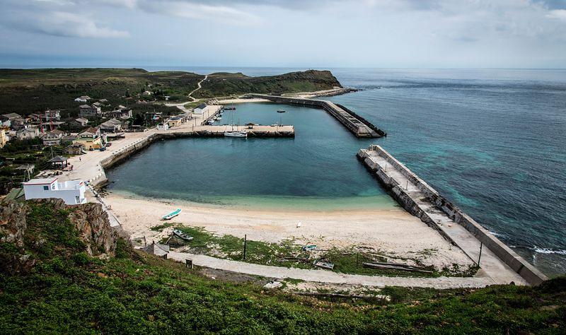 澎湖東吉島,南方四島海洋國家公園管轄地之一,計劃為海洋教育中心預定地。(洪滋敏攝。)
