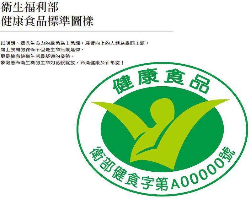 20150609小綠人標章(取自衛生福利部網站)