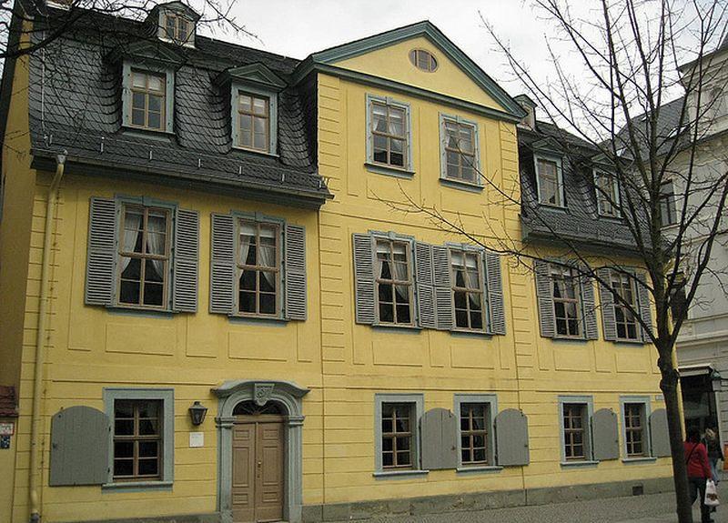 席勒故居的文學館。(圖庫)