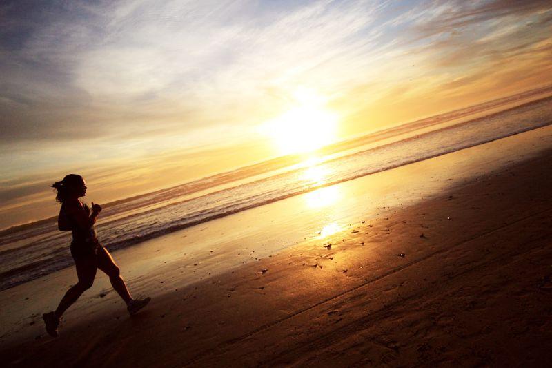跑步能讓妳擁有難以置信的充沛精力(圖/Aaron@flickr)