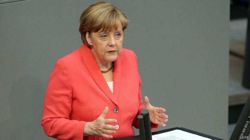得國總理梅克爾說,今年二月曾經有一個協議,希臘政府當時答應做出結構改革,「改革必須被完成。」
