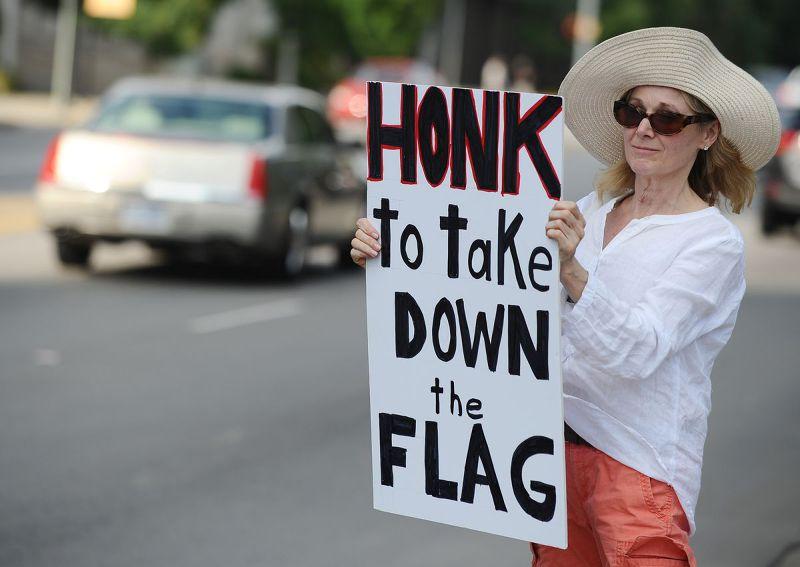 南卡羅來納州邦聯旗(Confederate flag)爭議