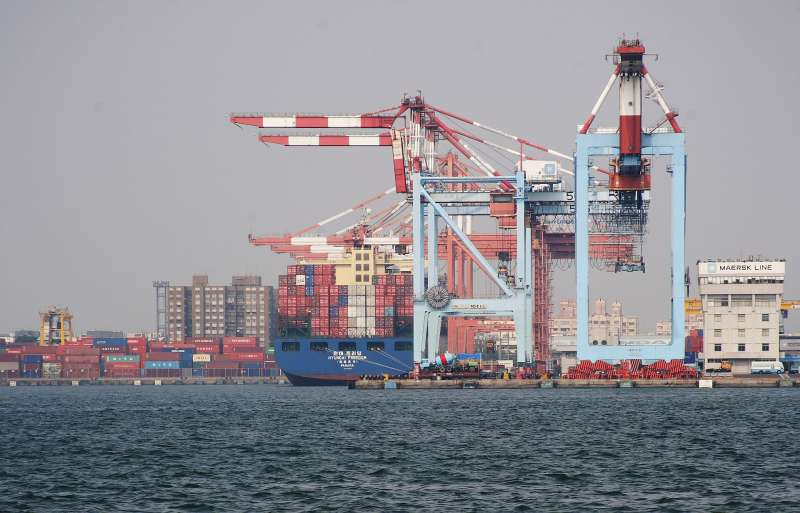 出口對中國依存度 台灣居全球第二高(取自維基百科)