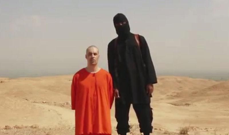 慘遭伊斯蘭國成員斬首的美國公民佛利。(美聯社)