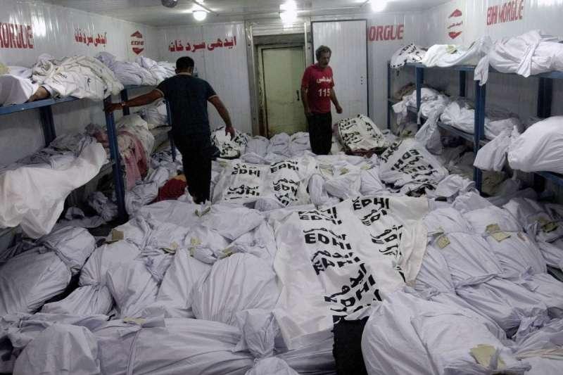 巴基斯坦熱浪來襲,太平間屍滿為患(美聯社)