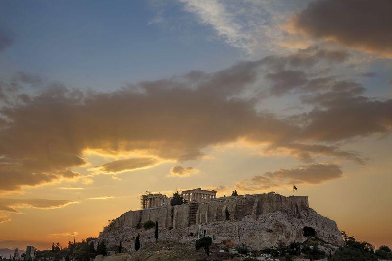 希臘知名景點衛城(Acropolis)。(美聯社)