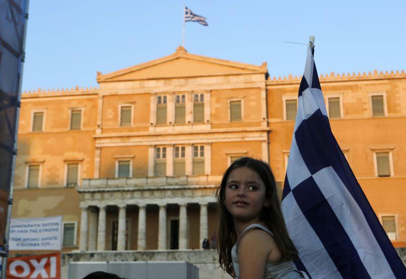 希臘5日舉行公投。(美聯社)