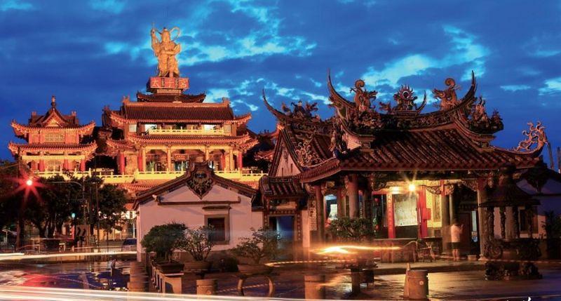 新營太子宮是台灣最早的太子廟。(取自中華文化總會走讀台灣官網)