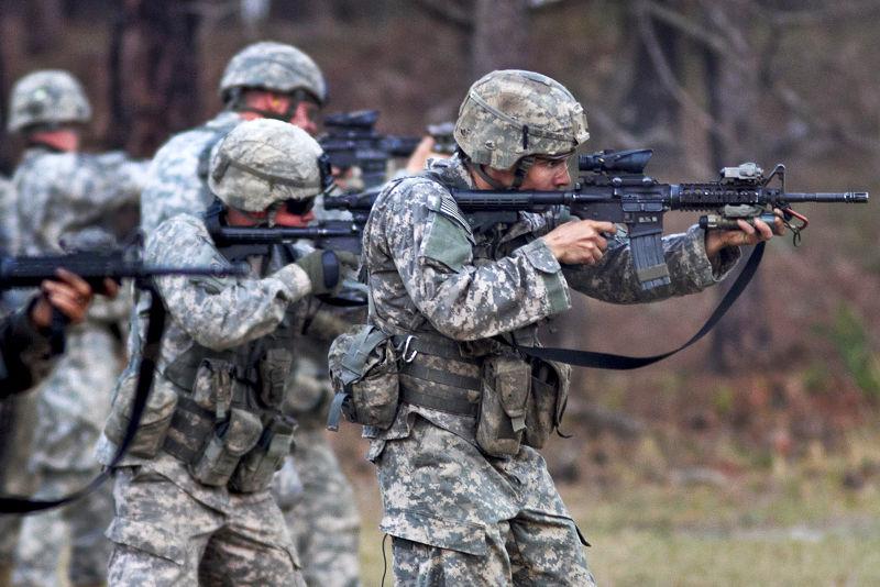 美軍。(維基百科)