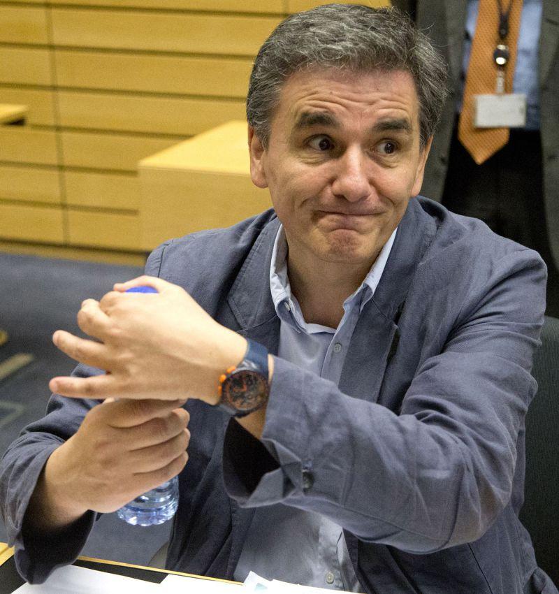希臘新任財政部長查卡洛托斯(Euclid Tsakalotos)臨危受命(美聯社)