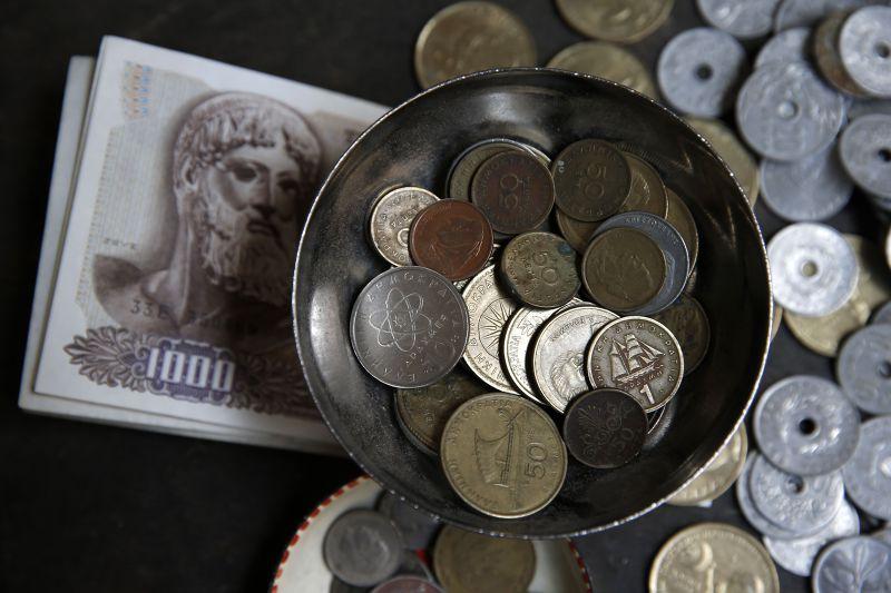 希臘如果發行貨幣,將視同退出歐元區。(美聯社)