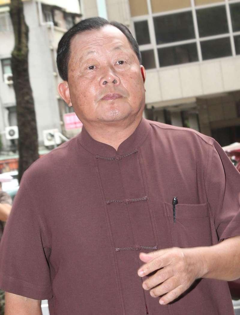 2014年8月17日,時任苗栗縣長劉政鴻參加全國教育會議(吳逸驊攝)