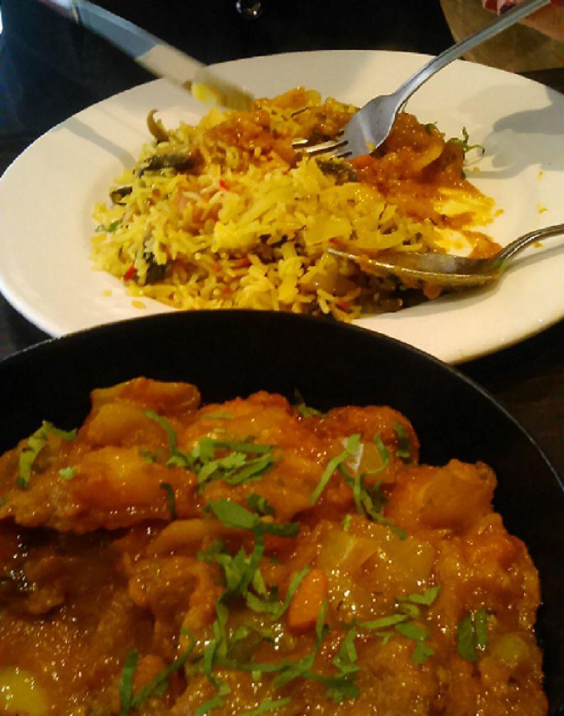 極受歡迎的印度料理  (Dave Barkway 攝)