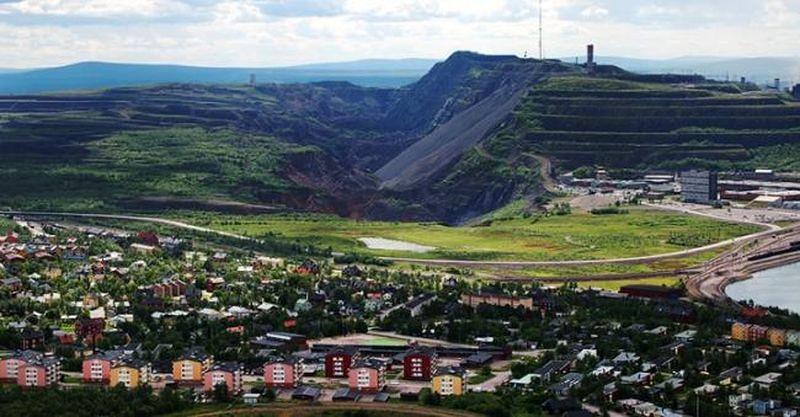 瑞典北部城市基律納蘊藏豐富鐵礦(作者提供)
