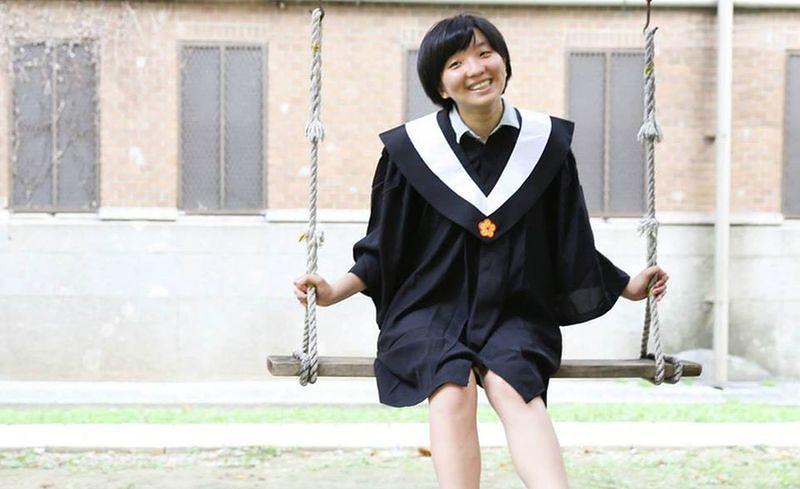 寶貝翔兒畢業了。(取自臉書)
