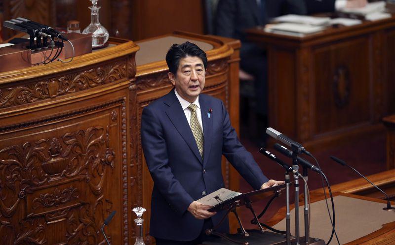 日本首相安倍晉三下周將發表二戰結束70年談話,倍受外界矚目。(美聯社資料照片)