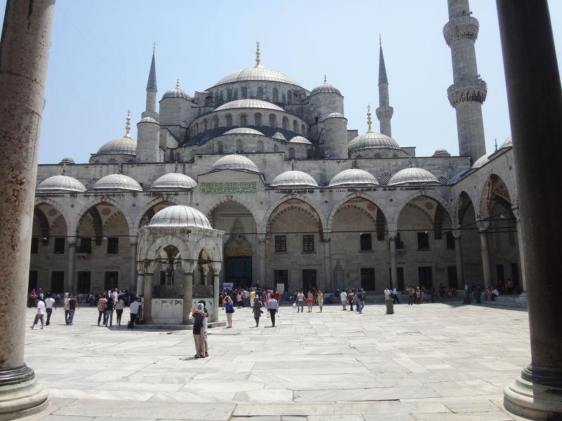 藍色清真寺。