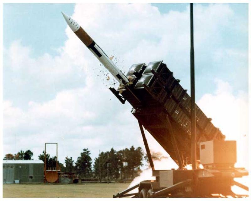 國軍的愛國者飛彈。(取自維基百科)