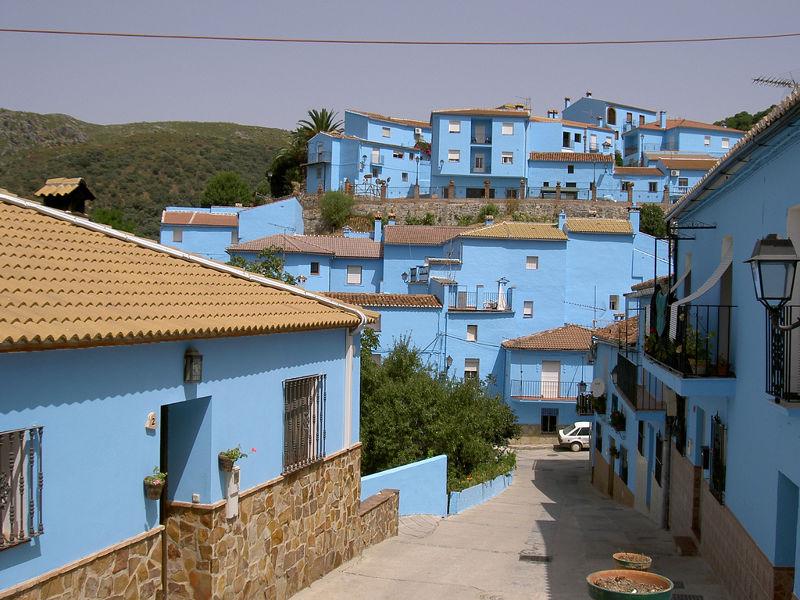 西班牙的藍色小精靈村(圖/manuelfloresv@flickr)