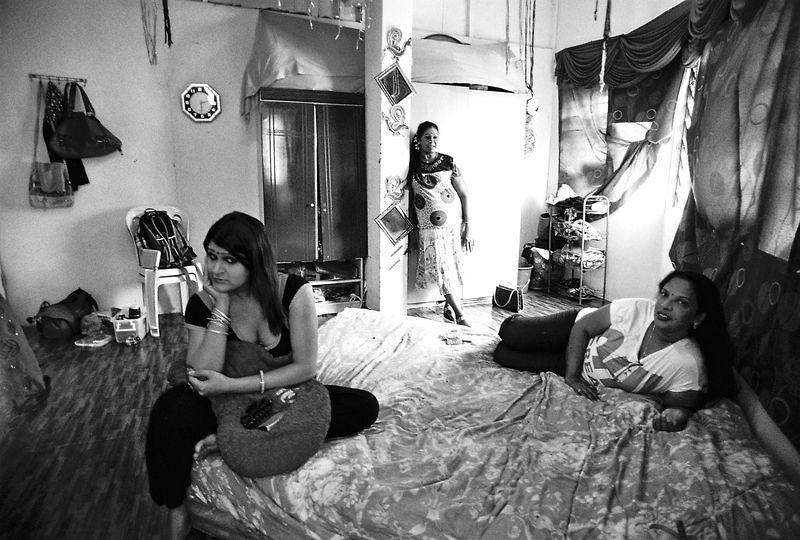 馬來西亞變性性工作者。(洪滋敏攝影)