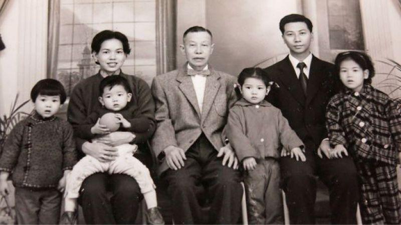 熬過大戰的林彥斌現在有八個孩子。(BBC中文網圖片)