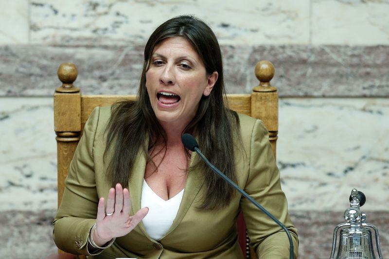 希臘國惠女議長康斯坦圖波盧也反對紓困方案。(美聯社)