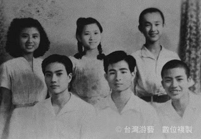 白色恐怖受難者丁窈窕 (左一)及施水環(左二)。(台灣游藝數位複製)