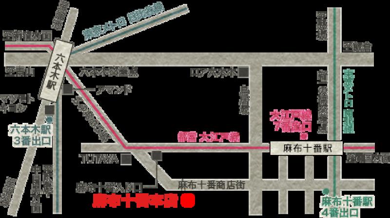 更科堀井的地圖