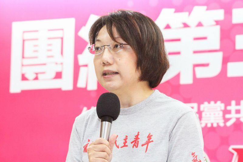 社民黨與綠黨合作組成「綠黨社會民主黨聯盟」,今日舉行記者會,圖為社民黨黨主席范雲。(曾原信攝)