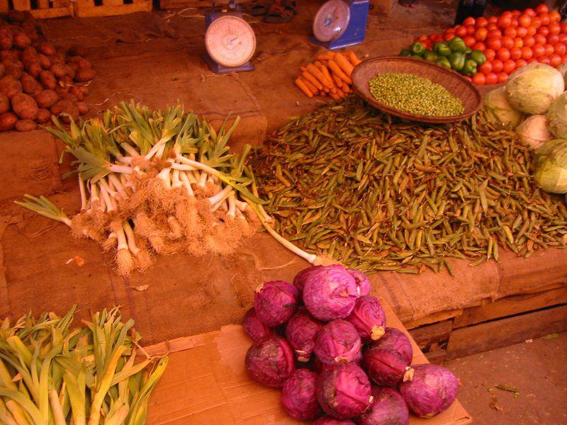 桑吉巴石頭城的香料攤販。(圖/Eirik Newth@flickr)