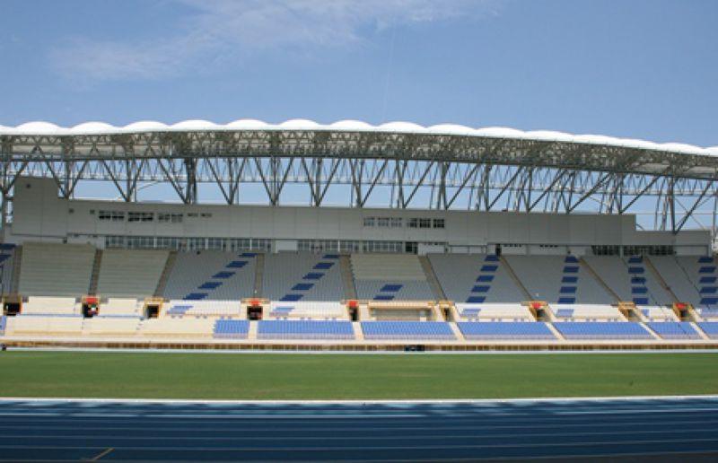 北市體育局經過世界大學運動會同意後,開閉主場館將從大巨蛋移師台北田徑場。(取自北市體育局網站)