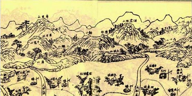 大肚番王統轄地區圖(中研院民族所數位典藏)