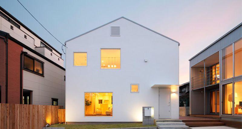 利用窗戶巧妙採光的「窗之家」(圖/無印良品の家@facebook)