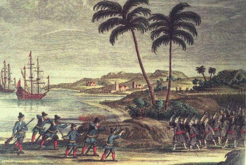 荷蘭領台時期,來台漢人在荷蘭人眼中都是「外勞」。