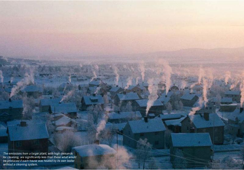 每年燒掉70萬噸的垃圾,轉換成可供應全瑞典20%家用暖氣 圖/ avfallsverige.se