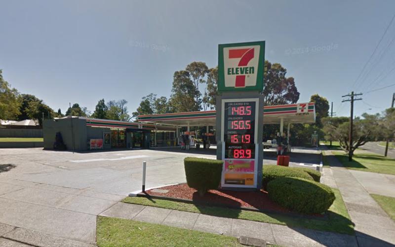 澳洲的7-11超商驚傳剝削工讀生。(Google街景服務)