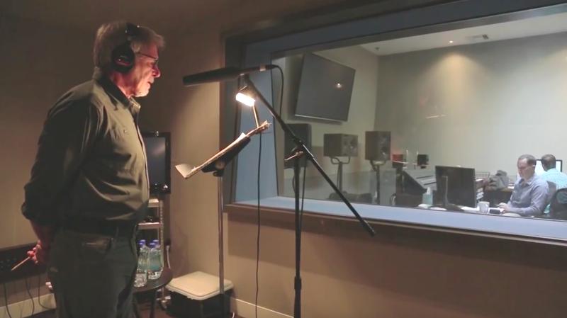 哈里遜福特(Harrison Ford)以低沉嚴肅的嗓音,為「海洋」配音。(截圖取自YouTube)