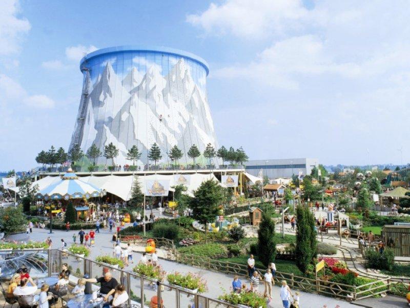 廢舊核電廠變身為Wunderland Kalkar的主題公園(圖/gizmag.com)