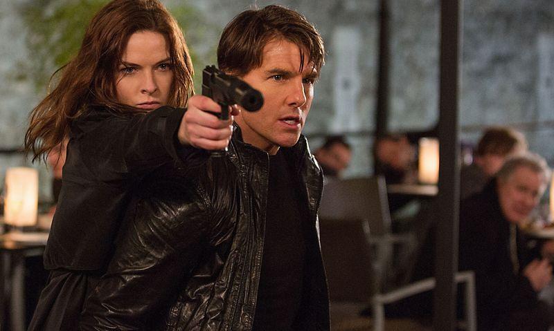 早年影集《虎膽妙算》(Mission: Impossible)有個角色即影射叛逃到西方的KGB少校。(此為電影版劇照)