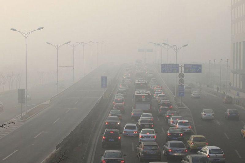 中國空汙(取自中國環保新聞網)