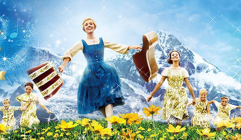 還記得電影《真善美》嗎,它其實是難民的「歡樂版」。(海報)