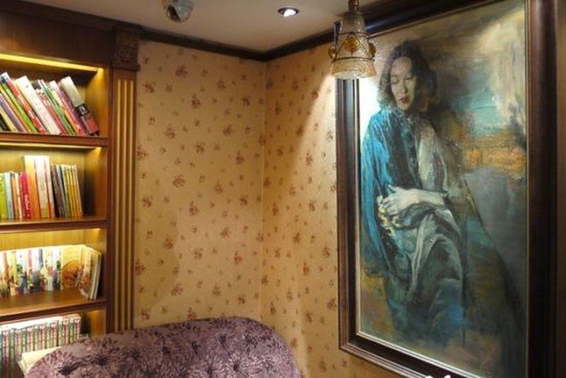 張愛玲舊居常德公寓樓下的咖啡館。(新浪旅遊)